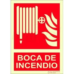 SEÑAL BOCA DE INCENDIO EQUIPADA 297X210mm