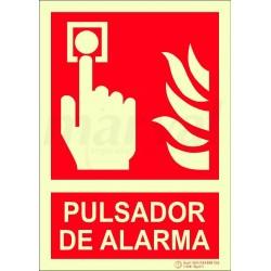 SEÑAL PULSADOR 297X210mm